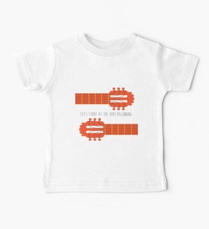 Guitar sound of music Baby Tee