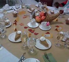 table spread by catnip addict manor