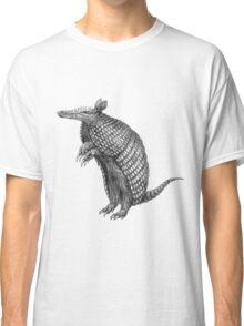 Pencil drawn armadillo Classic T-Shirt