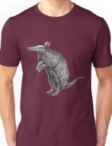 Pencil drawn armadillo Unisex T-Shirt