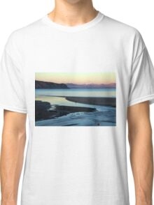 Blue and gold sunset Classic T-Shirt