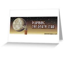 Plumbing Bumper Greeting Card