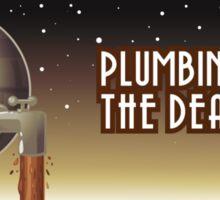 Plumbing Bumper Sticker