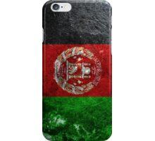 Afghanistan Grunge iPhone Case/Skin