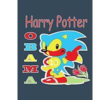 Harry Potter Obama Sonic Photographic Print