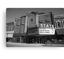 Alpena, Michigan - State Theater Canvas Print