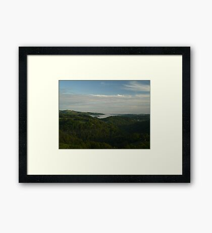 Sea of Cloud Framed Print