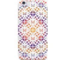 Seamless floral and butterfly pattern iPhone Case/Skin