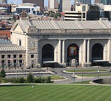 Kansas City - Union Station by Frank Romeo