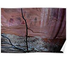 PICTOGRAPHS CANYONLANDS UTAH Poster
