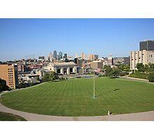 Kansas City Skyline and Park Photographic Print