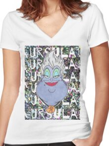 Ursula Women's Fitted V-Neck T-Shirt