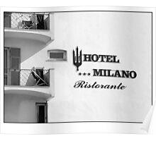 san remo hotel Poster