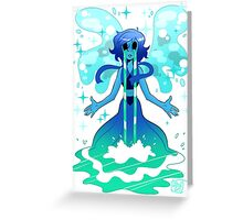 Water Witch Greeting Card