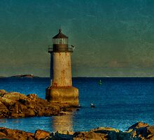 Fort Pickering Light by Monica M. Scanlan