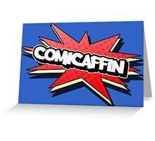 Comicaffin - YouTube Logo Greeting Card