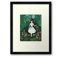 Forest Green Framed Print