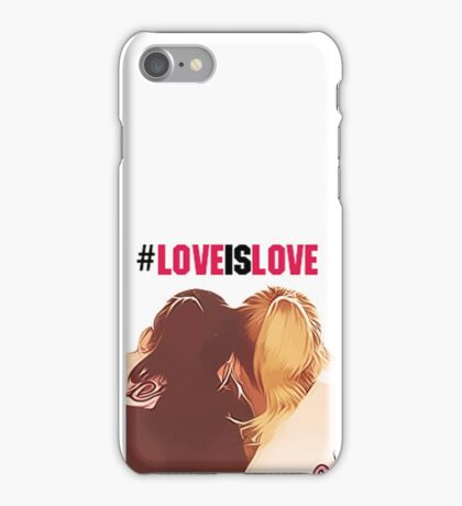 #loveislove brittana iPhone Case/Skin