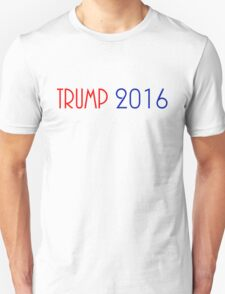 TRUMP 2016 (RED & BLUE) FOR PRESIDENT T-Shirt