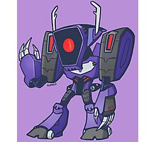 Shockwave from Transformers Animated Version B Photographic Print