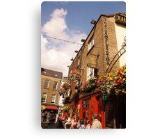 The Temple Bar Pub - Dublin Ireland Canvas Print