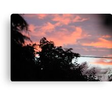 Coloured Sky 02 Canvas Print