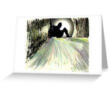 Lonely Person Greeting Card