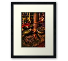 Kitchen at Paul's Framed Print