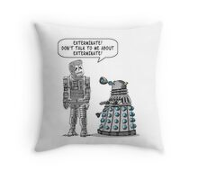 Dalek Adams 2 Throw Pillow
