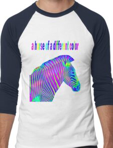 a horse of a different color Men's Baseball ¾ T-Shirt