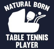 Natural Born Table Tennis Player by AmazingVision