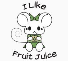 I Like Fruit Juice -- Pear Green One Piece - Short Sleeve