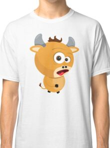 Cartoon Ox Classic T-Shirt