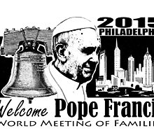 Welcome Pope Francis  by lagmanart