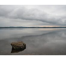 Lone Rock at Lake Maumelle Photographic Print