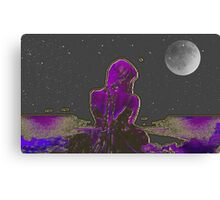 She-  Art + Products Design  Canvas Print