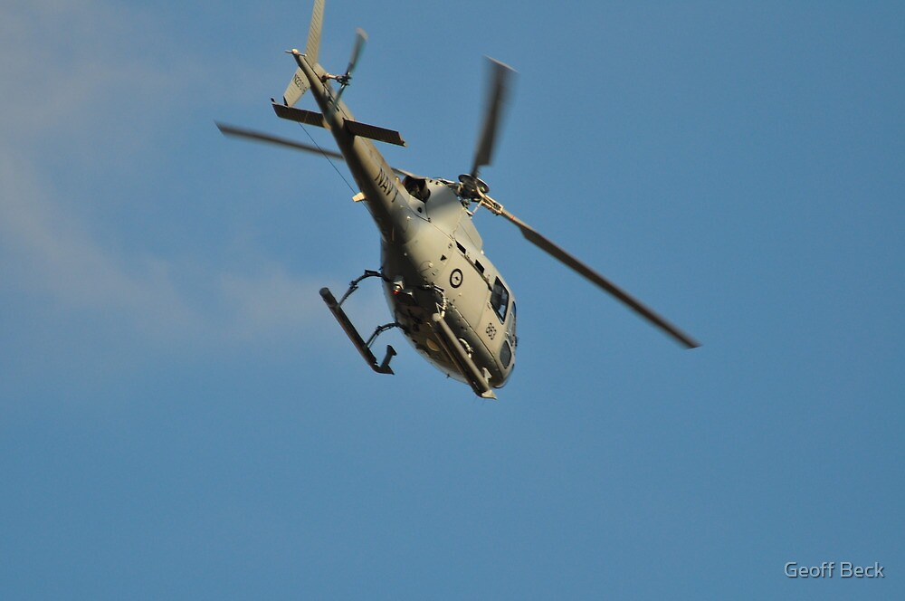 Navy Helo by Geoff Beck