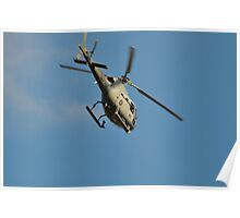 Navy Helo Poster