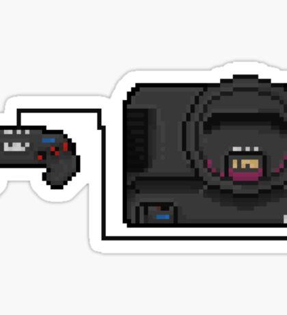 Sega Mega Drive - a true pixel classic! Sticker