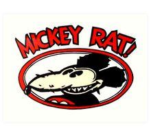 Mickey Rat Art Print