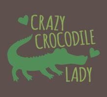 Crazy Crocodile lady One Piece - Short Sleeve