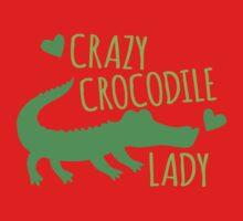 Crazy Crocodile lady One Piece - Long Sleeve