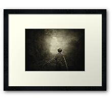 Journey to the Past... Framed Print