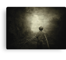 Journey to the Past... Canvas Print