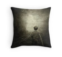 Journey to the Past... Throw Pillow
