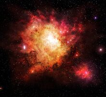 Supernova Nebula by charmedy