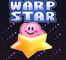 Kirby Warp Star by likelikes
