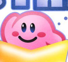 Kirby Warp Star Sticker