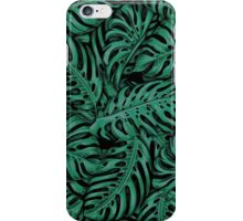 Tropo- Black/Green iPhone Case/Skin