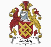 Coat of arms (family crest) for last-name or surname Audley . Heraldry banner for your name. by rita24